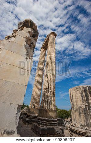 Columns Temple Of Apollo