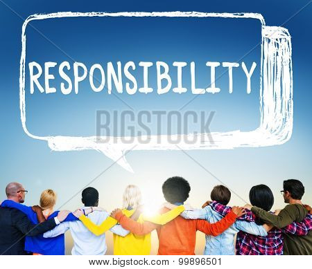 Responsibility Duty Obligation Job Trustworthy Concept