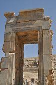pic of xerxes  - The Ruins of ancient Persepolis in Iran - JPG