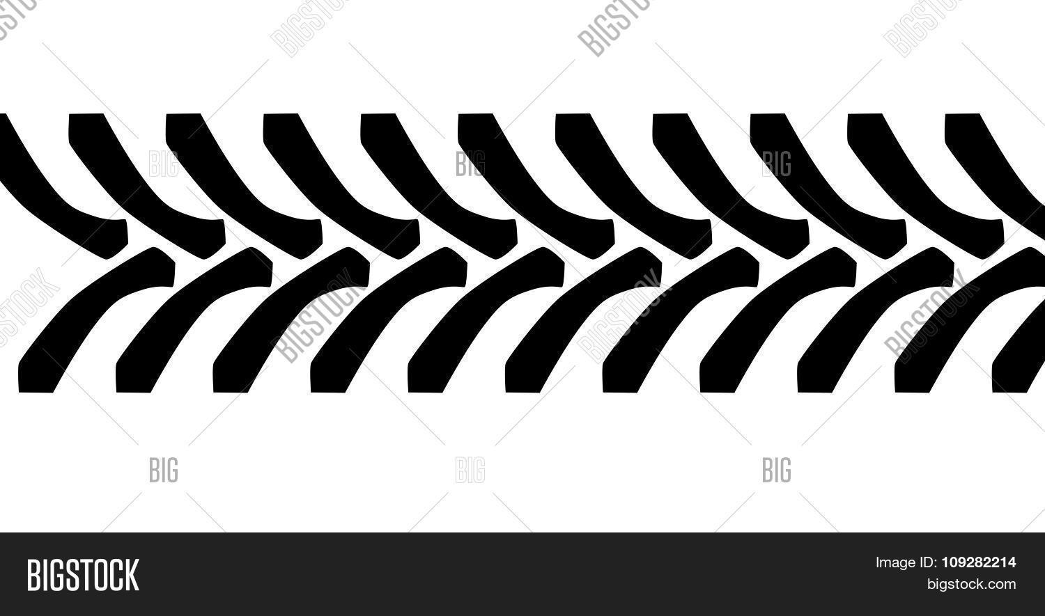 tractor tire tread marks vector   photo bigstock tire track clipart free motorcycle tire tracks clipart