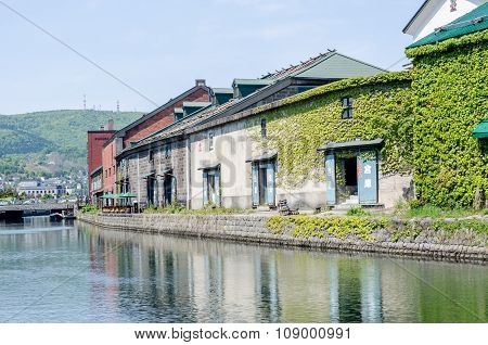 Otaru,japan - 18 May 2015:otaru Canal Was A Central Part Of The City's Busy Port In The First Half O