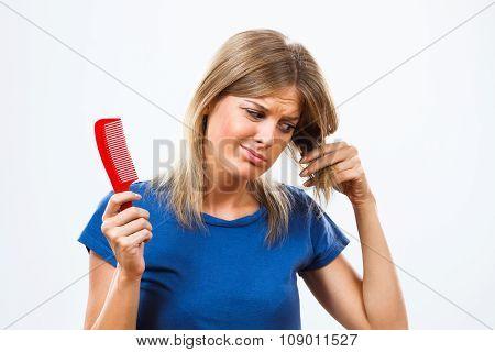 Oh no I am loosing my hair!