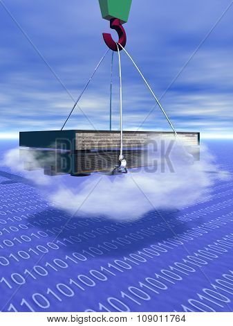 cloud computing,blade servers