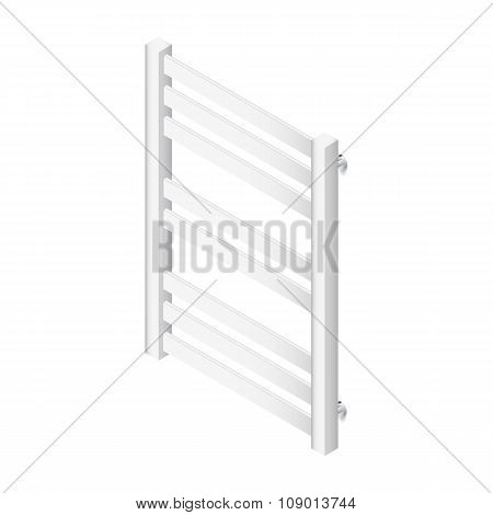 Heater Towel Rail Isometric Icon