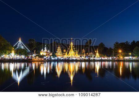 Wat Chong Klang And Wat Chong Kham At Mae Hong Son, Northern Thailand