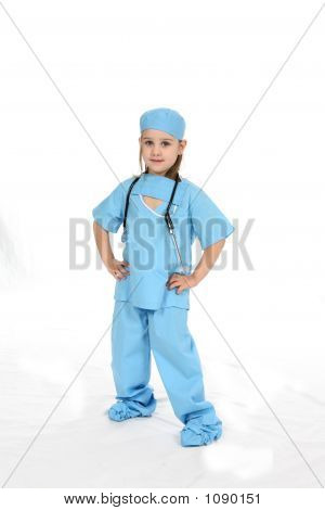 Four Year Old Surgeon