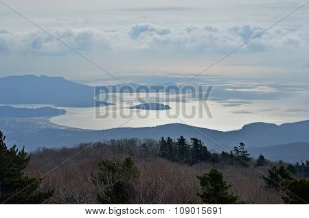 Landscape In Mountain Taiga