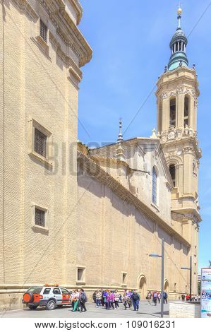 Saragossa. Cathedral Of Mother Of God Pillar