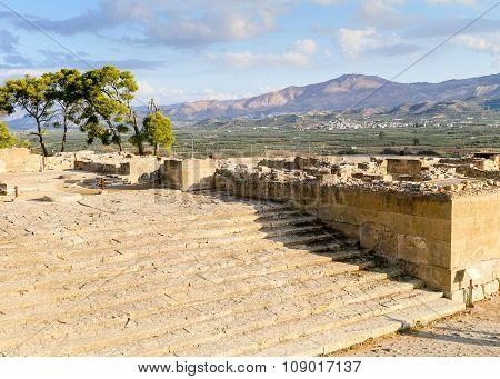 Phaistos Stairway