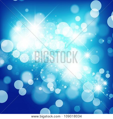 Abstract Star Holiday Background