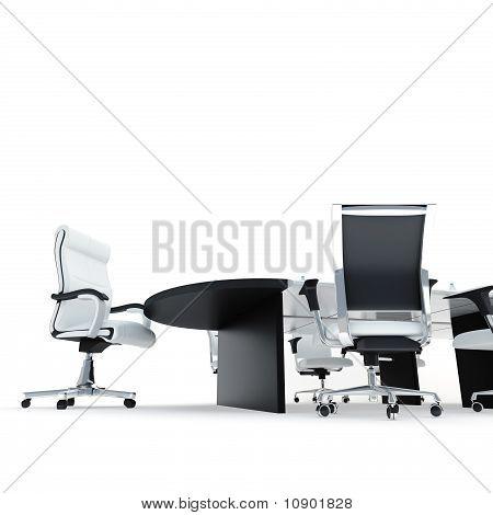 in modern office