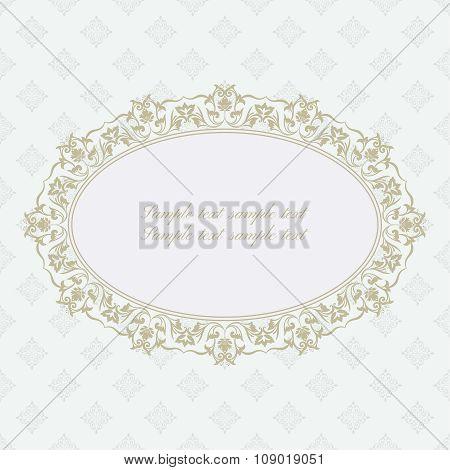 Baroque Ornate Frame