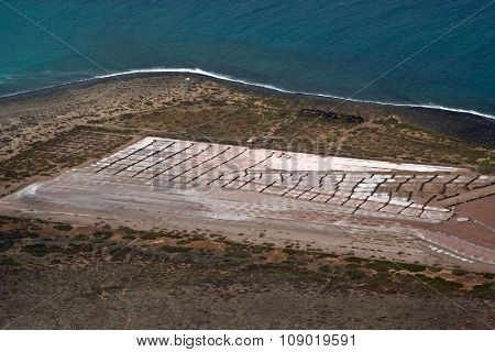 Old Historic Salines In Lanzarote