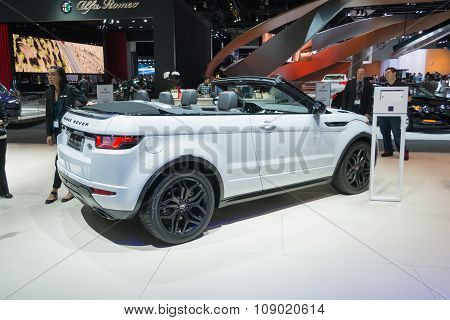 Range Rover Evoque Convertible Suv