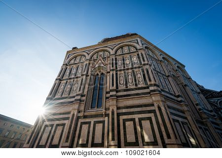 Duomo Sun Flare
