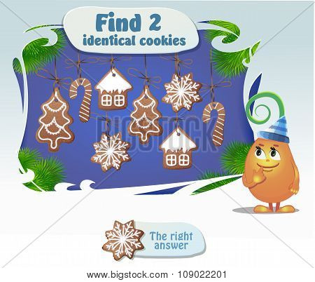 Find 2 Identical Cookies
