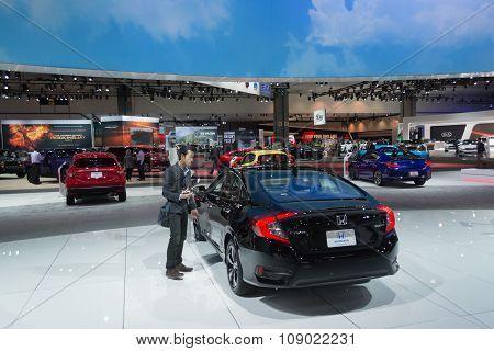Honda Stand On Display