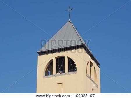 Santa Monica Church In Turin