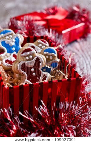 Christmas Cookies With Icing