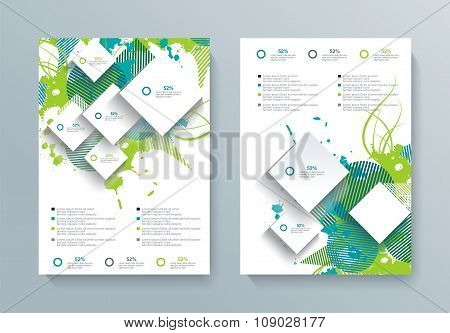 Vector Brochure, Flyer, Magazine Cover, Poster Template