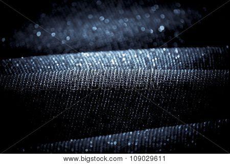 Draped Lurex Fabric