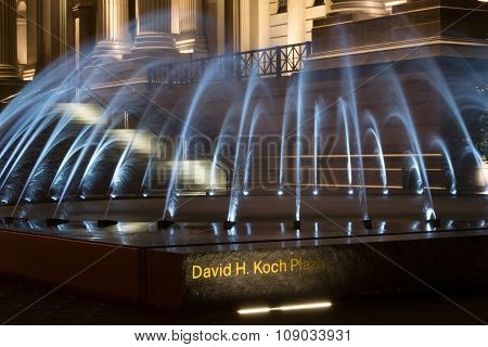 David H Koch Plaza Fountain