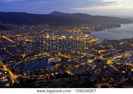 Bergen Evening View