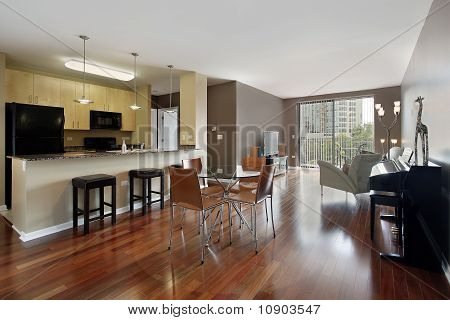 Condo With Open Floor Plan