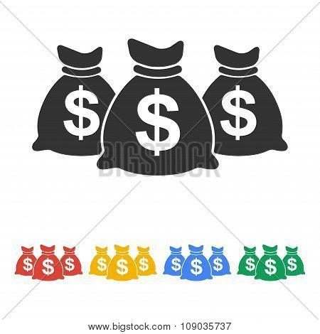 Money bag icon