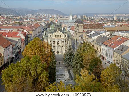 Kosice - Top View