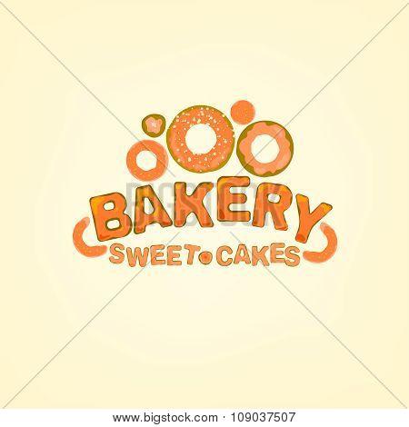 Vector editable Bakery logo