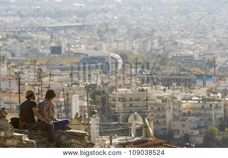 Greece Thessaloniki General View