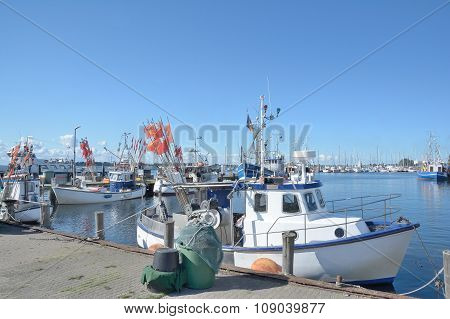 Harbor,Burgstaaken,Fehmarn,Germany