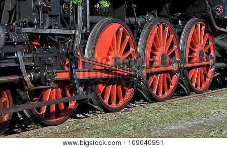 wheels for locomotives