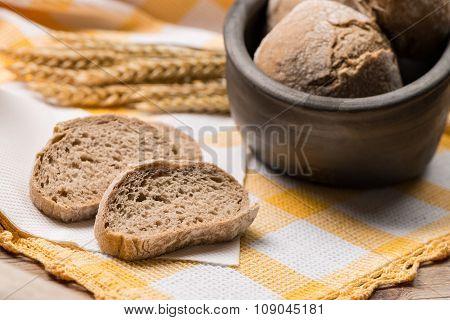 Bread Rye Spikelets