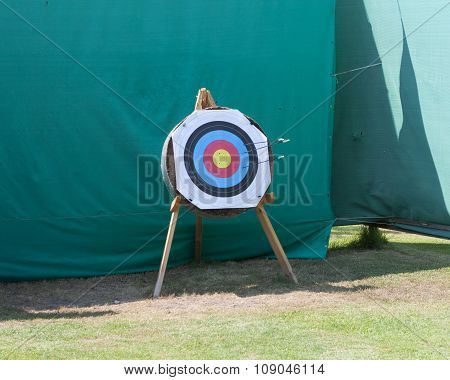 Standard Targets Are Marked With 10 Evenly Spaced Concentric Rings Photo