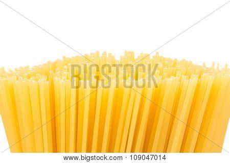 Raw Pasta Spaghetti Macaroni