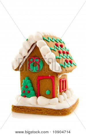 Traditional American Ginger Bread House