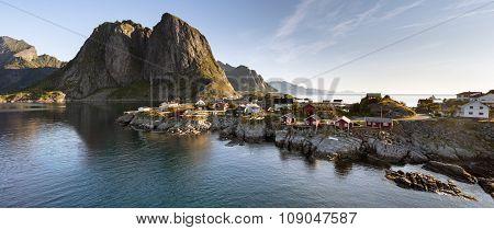 Panorama Hamnoy Island, Lofoten, Norway
