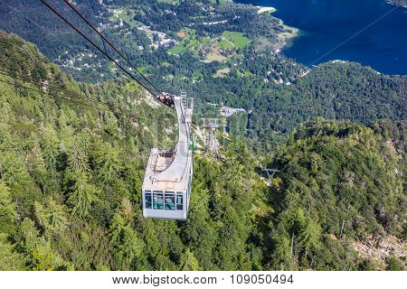 Lake Bohinj From Vogel Cable Car Top Station, Slovenia