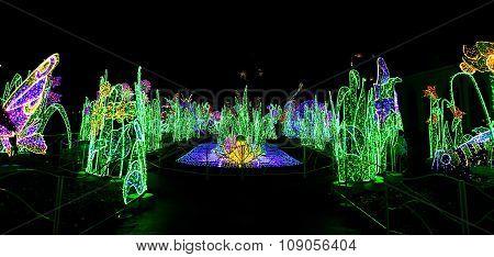 View On Royal Garden Of Light