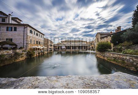 Bagno Vignoni,Italy
