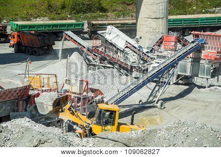 Industrial work