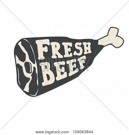 Fresh Beef Label
