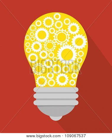 bulb and gears