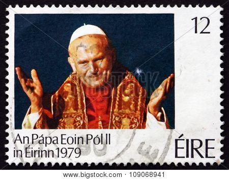Postage Stamp Ireland 1979 Pope John Paul Ii