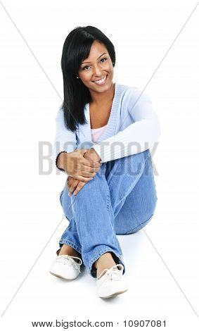 Relaxing Young Woman