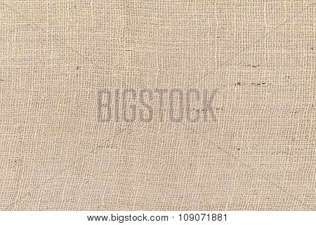 Jute Fabric Natural Texture Or Background