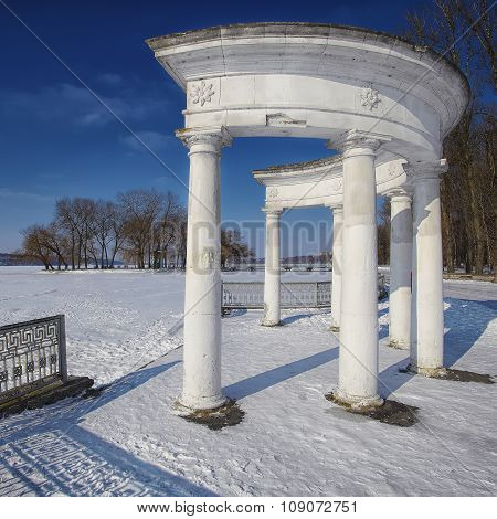 Arch In Winter Park