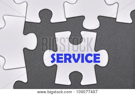 The White Jigsaw Puzzle Written Word Service